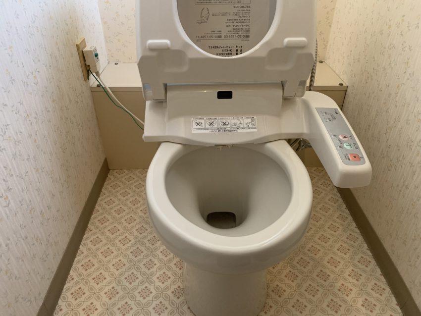 トイレクリーニング大阪 取り外し前