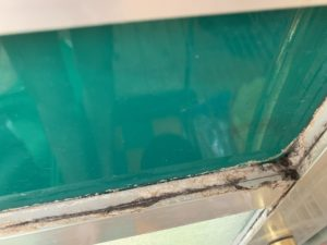浴室クリーニング 水アカ大阪 清掃前