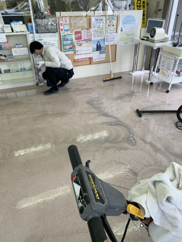 店舗掃除 大阪