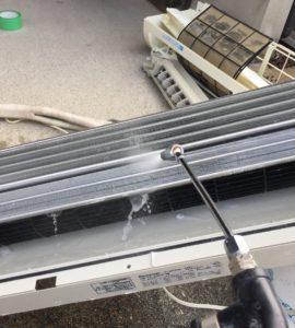 エアコン内部清掃