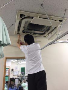 八尾市 業務用エアコン掃除
